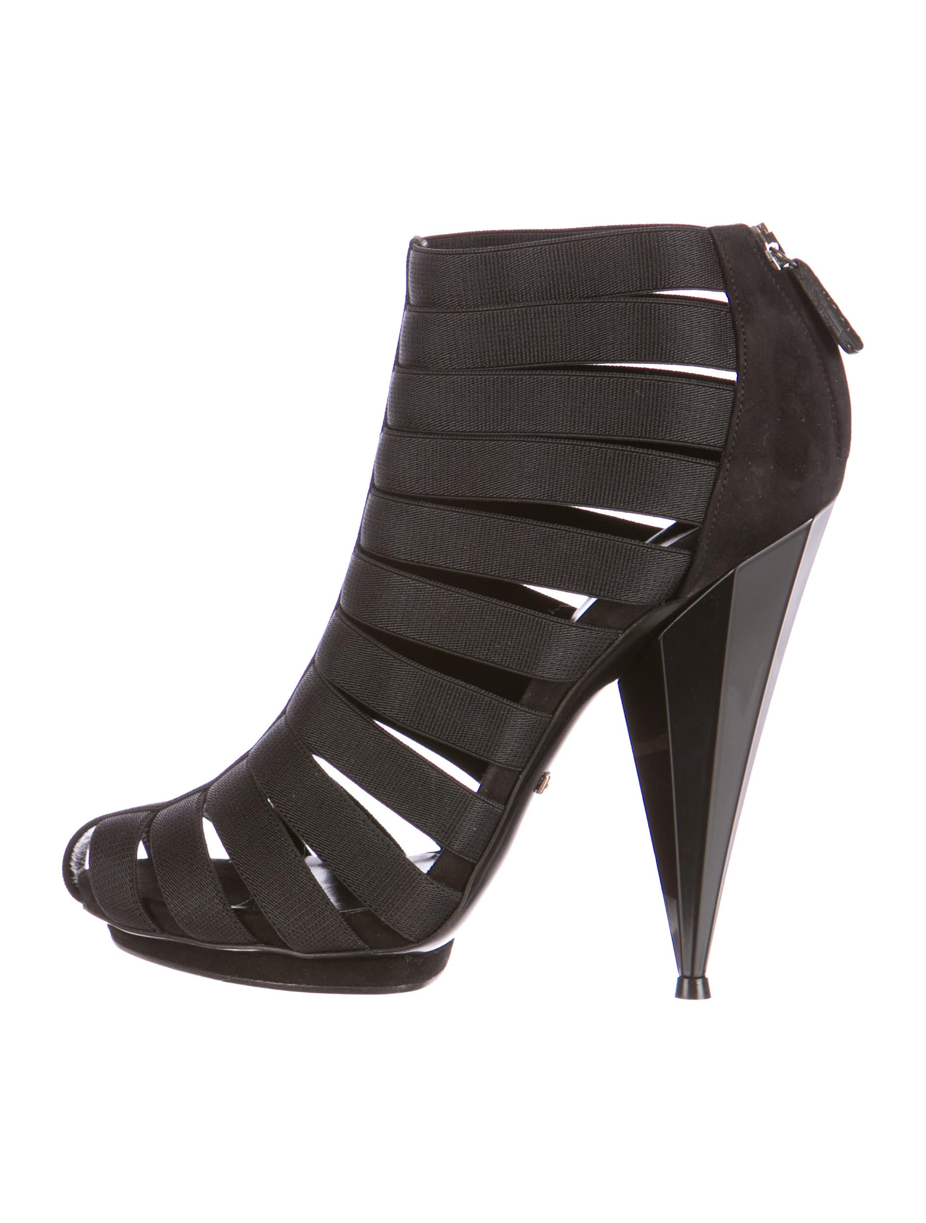 0e3225b57 Gucci Isadora Elastic Gladiator Booties w/ Tags - Shoes - GUC77495 ...