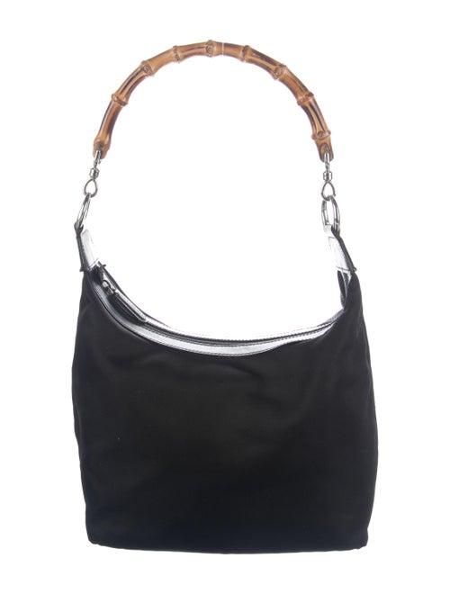 Gucci Bamboo Shoulder Bag Black