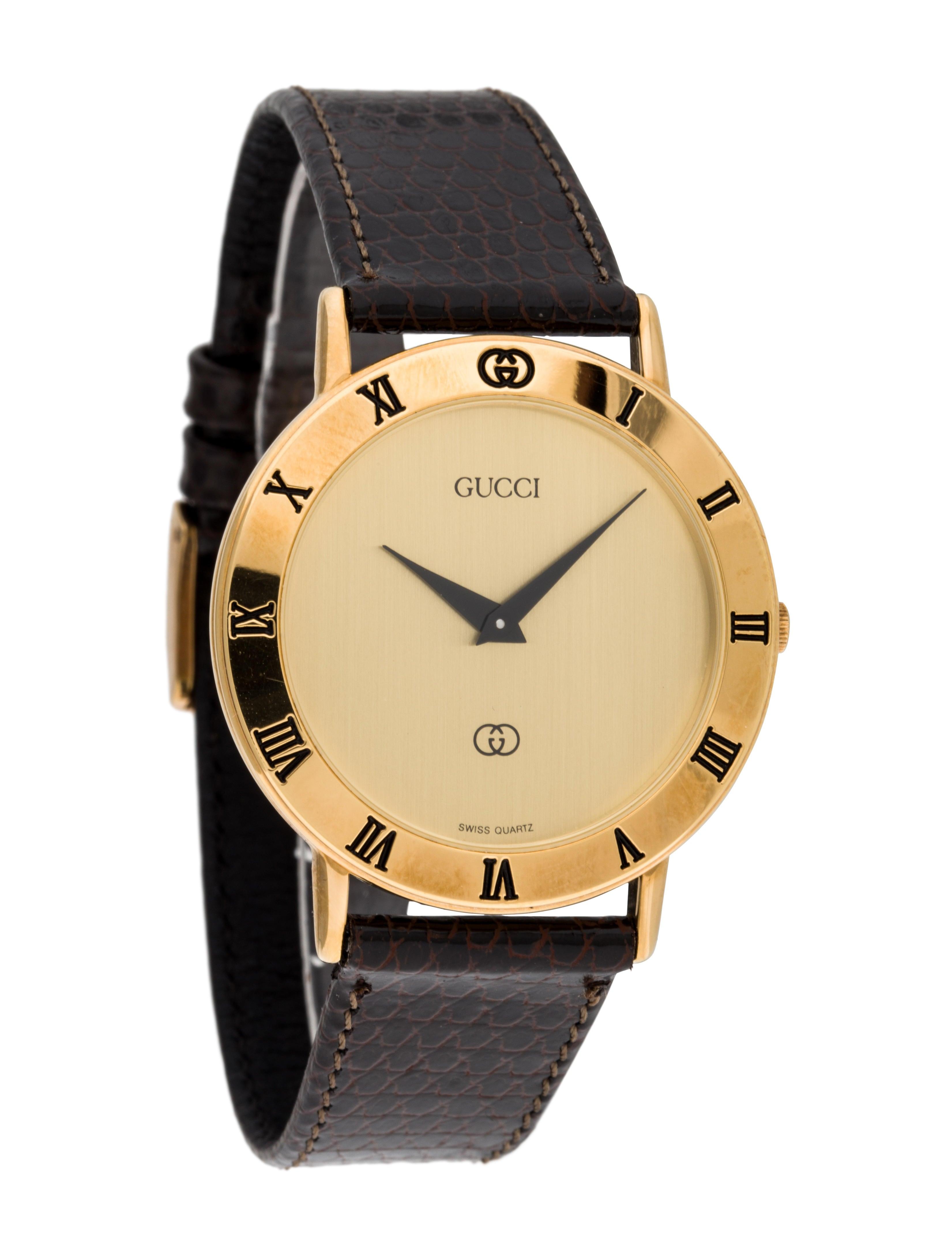 58eefa8d0b4 Gucci 3000M Watch - Strap - GUC80013