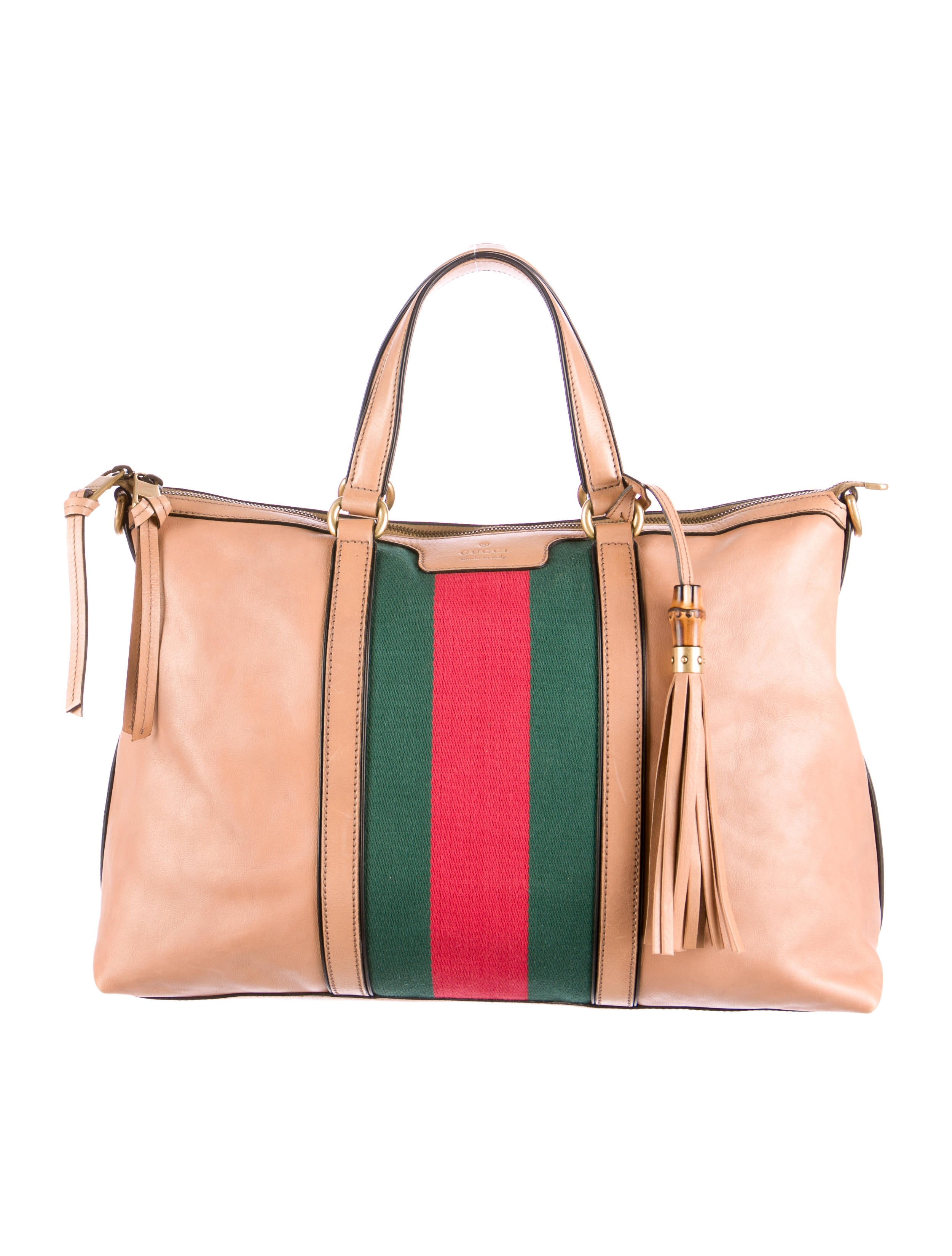 324d194615efd1 Gucci Rania Leather Top-Handle Bag - Handbags - GUC80565 | The RealReal