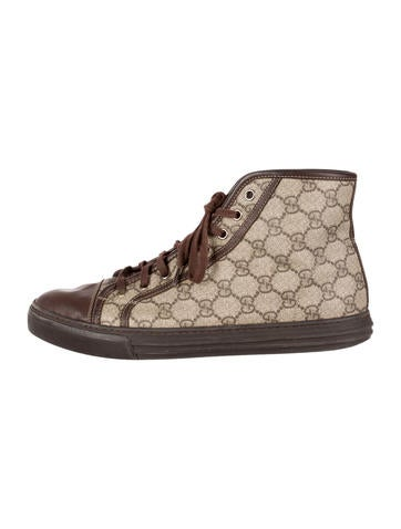 GG Plus High-Top Sneakers