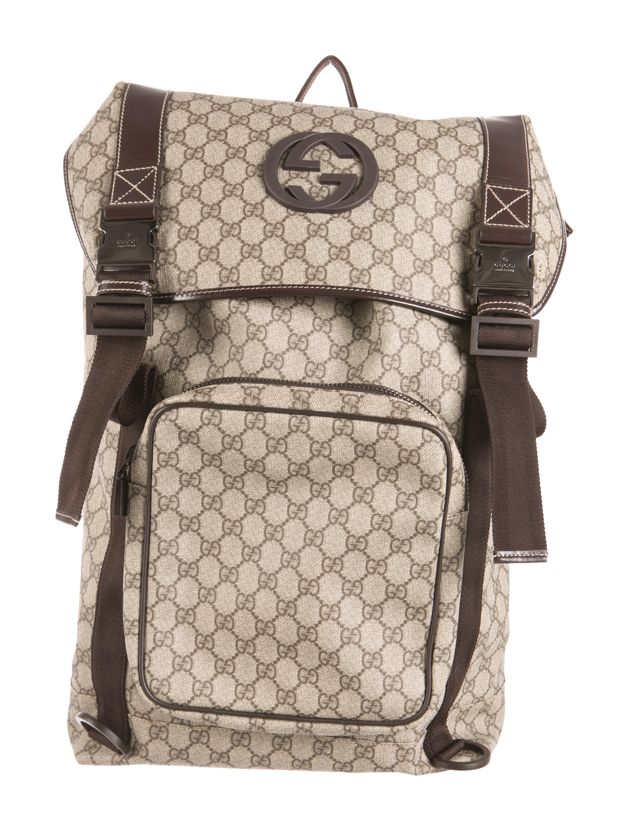 6139035beaf7eb Gucci GG Plus Interlocking G Backpack - Bags - GUC82239 | The RealReal
