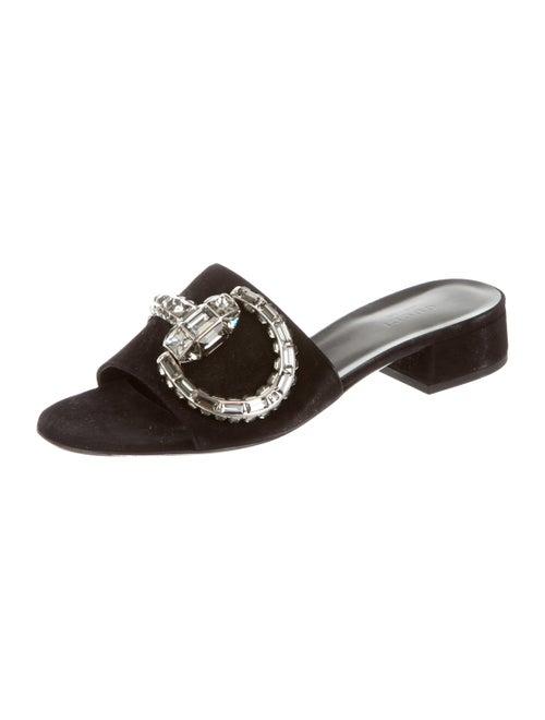 b09ed307c57 Maxime Crystal Horsebit Slide Sandals Maxime Crystal Horsebit Slide Sandals  ...