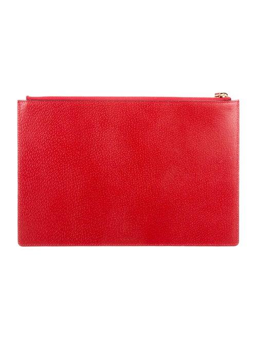 90cde1a242b Gucci Tian GG Supreme Zip Pouch - Handbags - GUC84454