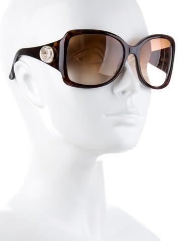 Oversize Tortoiseshell Sunglasses