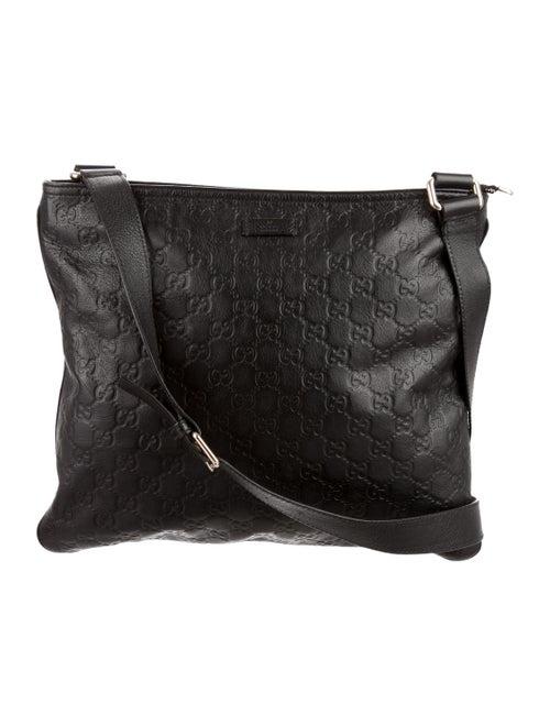 b6675eedc8aa89 Gucci Guccissima Crossbody Bag - Bags - GUC88802 | The RealReal