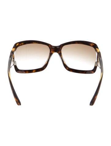 Tortoiseshell Oversize Sunglasses