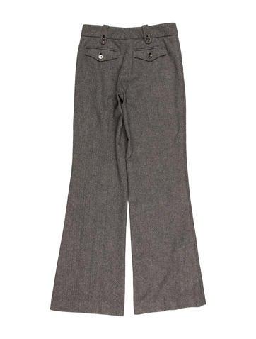 Herringbone Wool Pantsuit