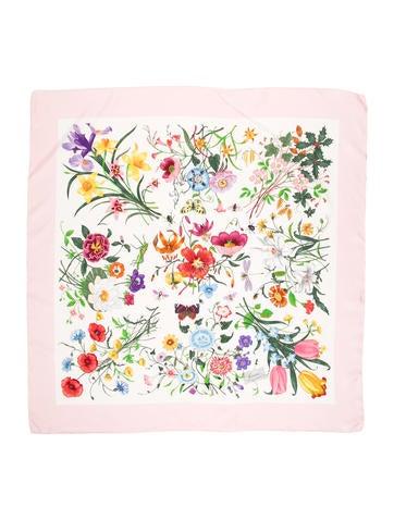 Flora Silk Scarf