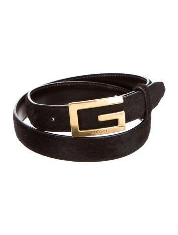 Logo-Embellished Waist Belt