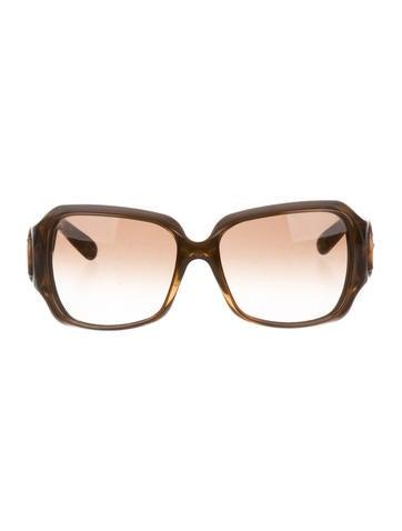 Tinted Horsebit Sunglasses