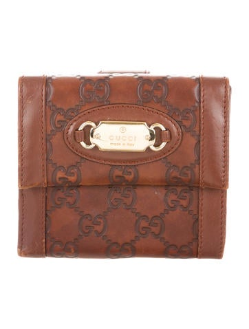 3ab7fae8dd98 Gucci Guccissima French Wallet | Stanford Center for Opportunity ...