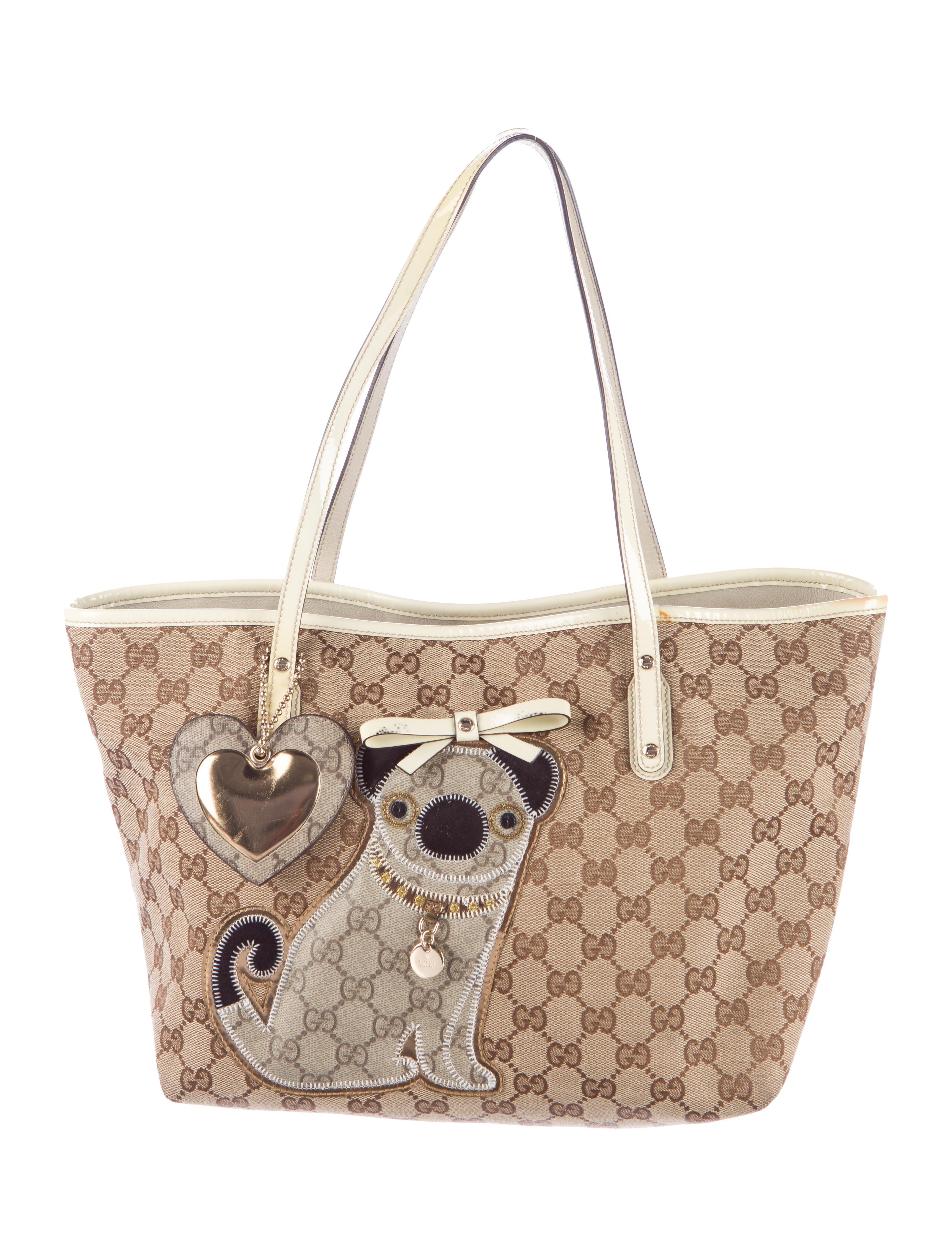 cc4435de452f Gucci Guccioli Medium Oliver Tote - Handbags - GUC96216 | The RealReal
