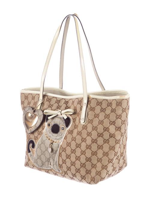 d01823c1bb61 Gucci Guccioli Medium Oliver Tote - Handbags - GUC96216   The RealReal