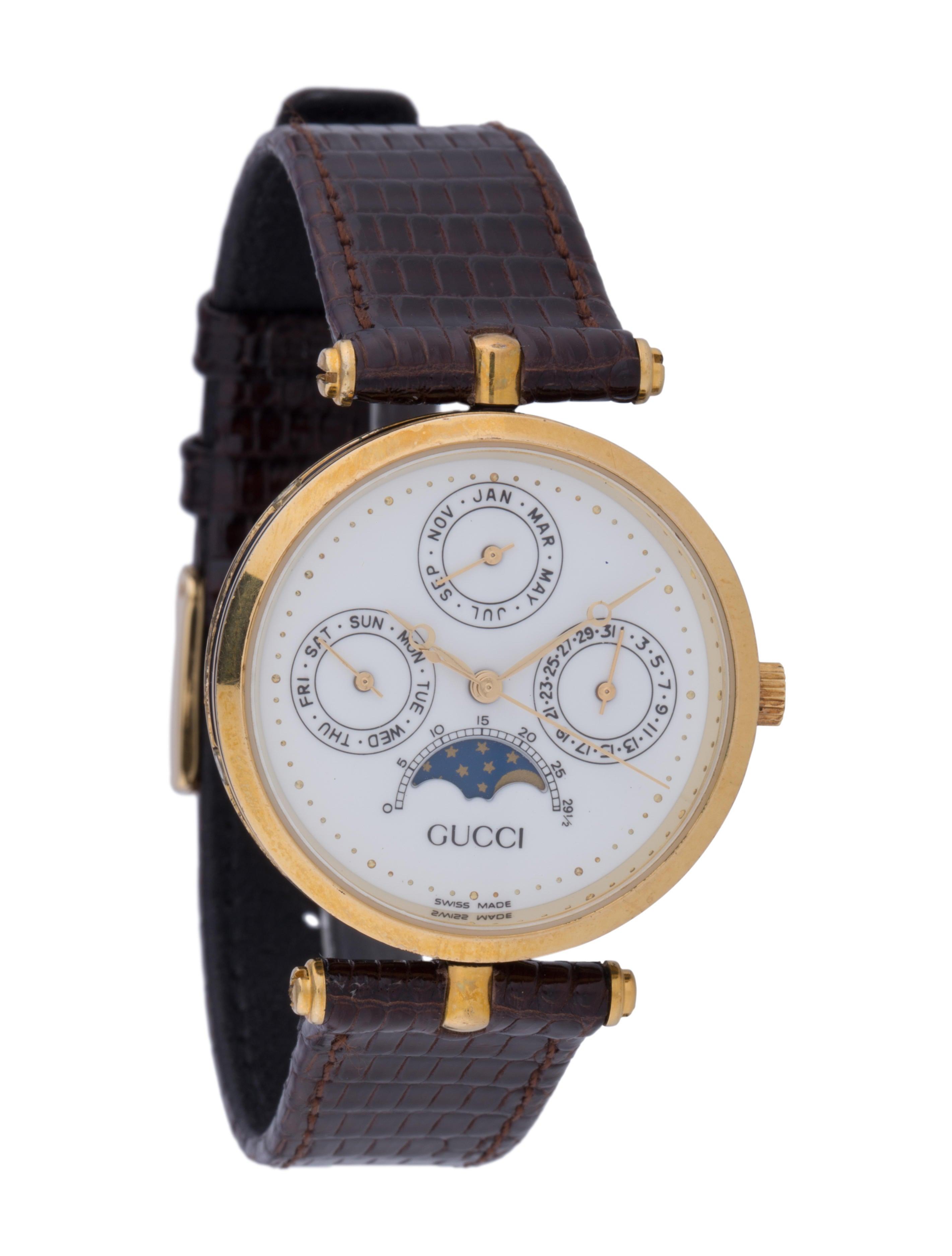 4191cb2aa7f Gucci Moon Phase Watch - Strap - GUC96499