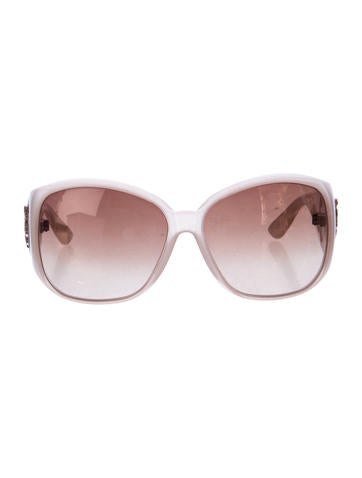 Medallion Oversize Sunglasses