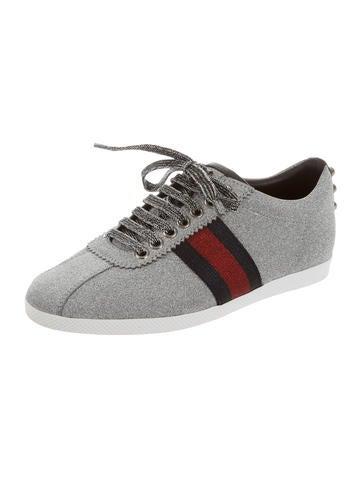 2016 Metallic Round-Toe Sneakers