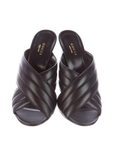 Leather Webby Sandals