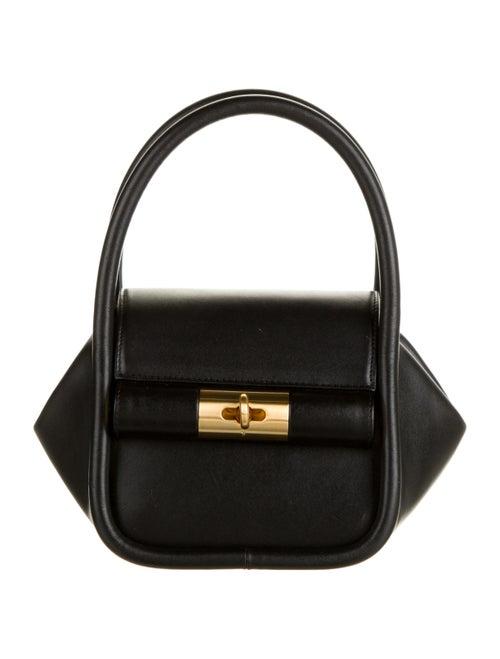 Gu_DE Leather Shoulder Bag Black