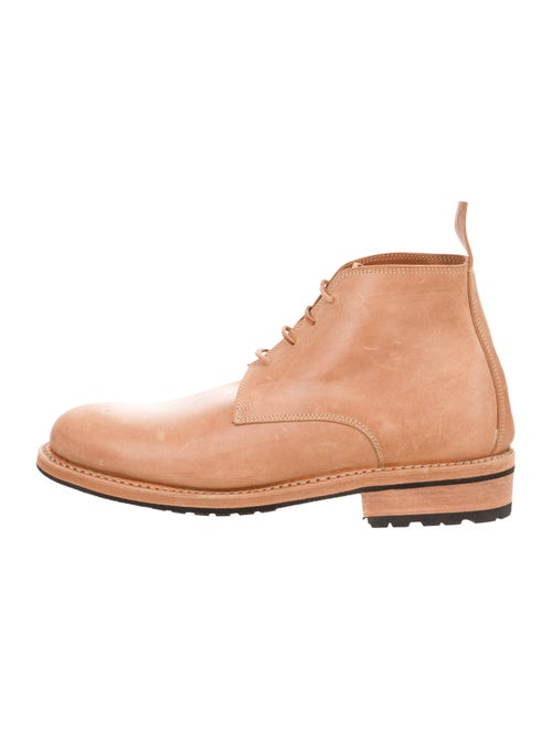 Guidi x Rosellini Leather Ankle Boots