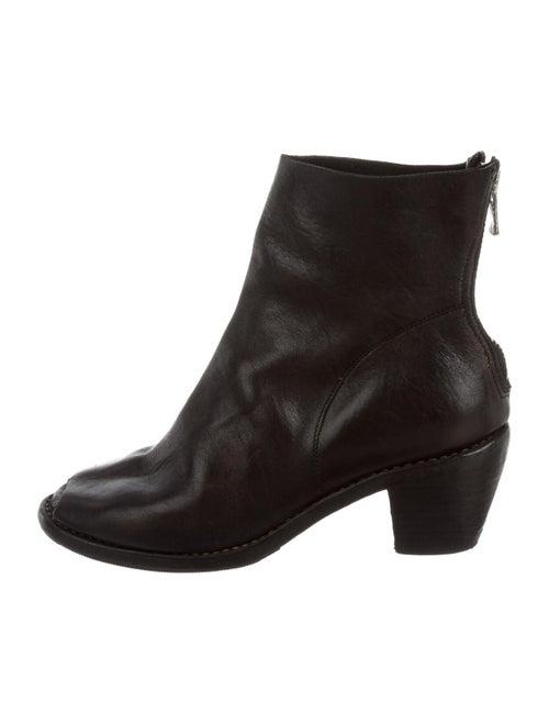 Guidi Leather Boots Black