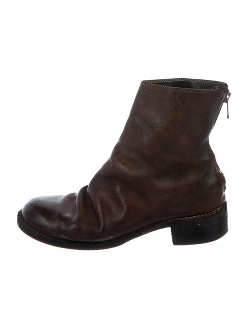 Guidi Leather Boots Brown