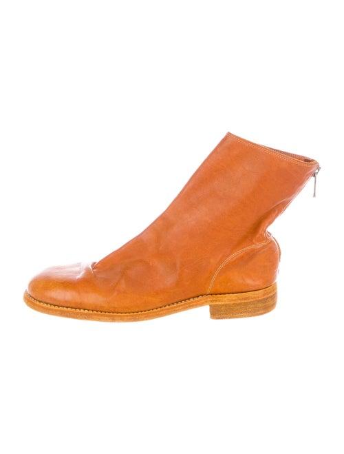 Guidi Kangaroo Boots Orange
