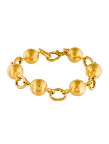 Gurhan 24K Spell Link Bracelet w/ Tags