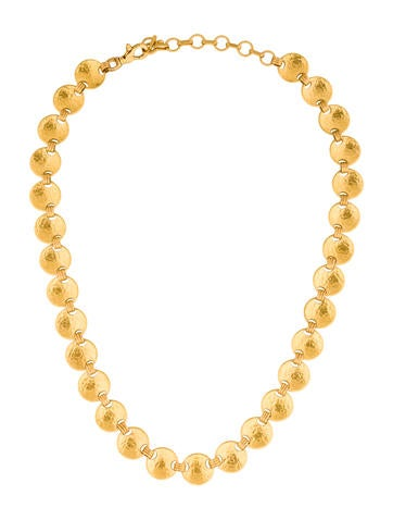 Gurhan 24K Hourglass Chain Necklace