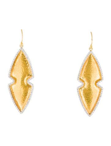 Gurhan Diamond Amulet Earrings