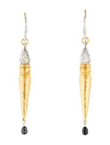 Gurhan Delicate Sultan Diamond Drop Earrings