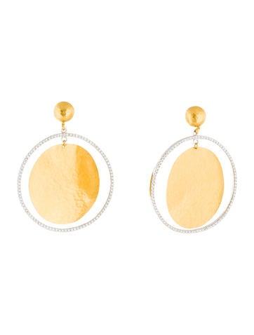 Gurhan Lush Diamond Drop Earrings