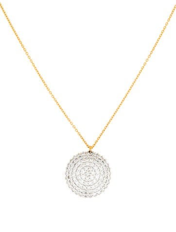 Gurhan Delicate Geo Diamond Necklace