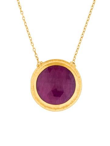 Gurhan Elements Hue Pendant Necklace