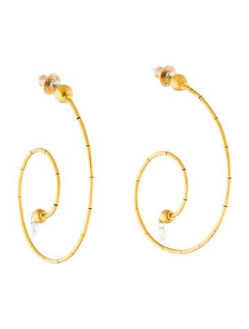 Gurhan 24K Diamond Earrings