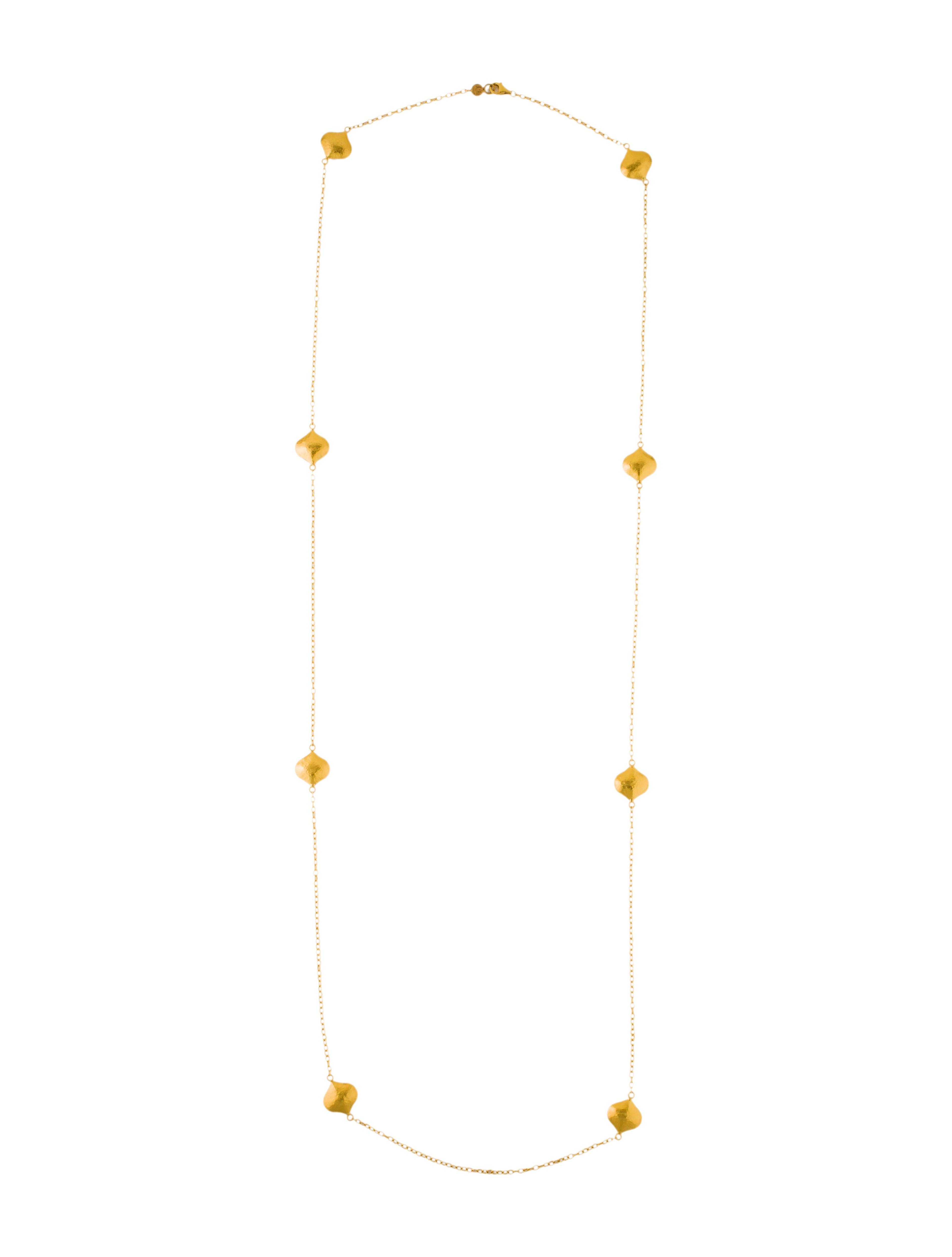 Gurhan Clove Puff Station Long Necklace m3KhDF