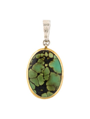 Gurhan Turquoise Pendant None