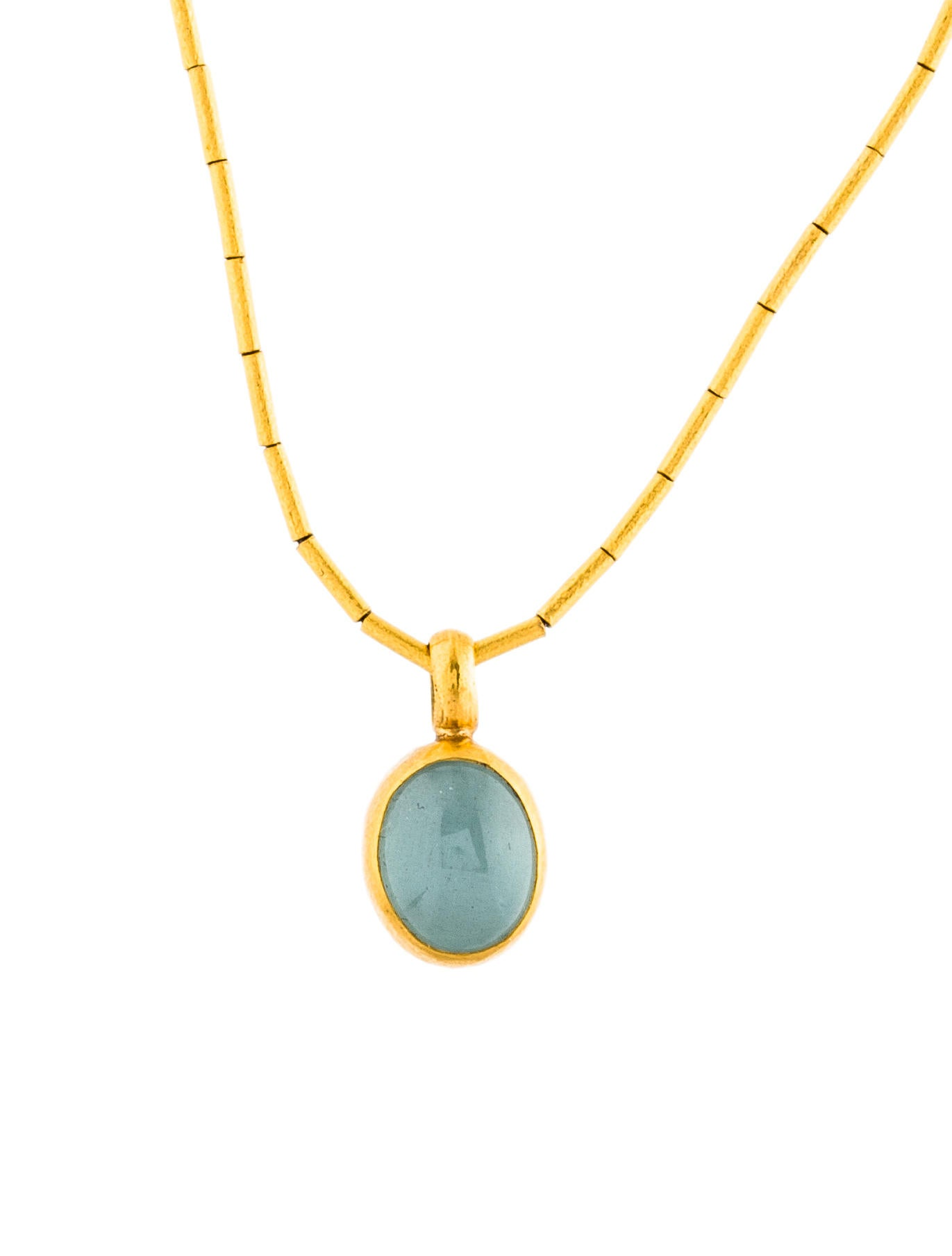 image womens aquamarine necklaces and gold chain white pendant from