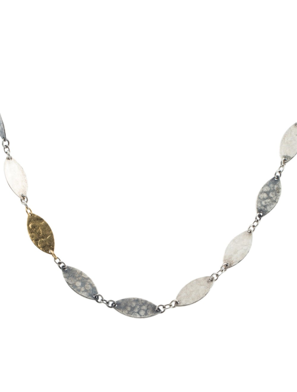 Gurhan Two Tone Willow Necklace Silver - image 2