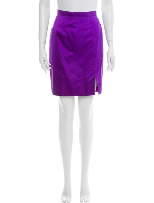 Guy Laroche Mini Skirt Purple