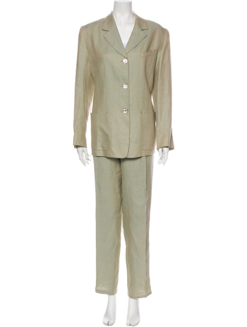 Guy Laroche Linen Pant Set