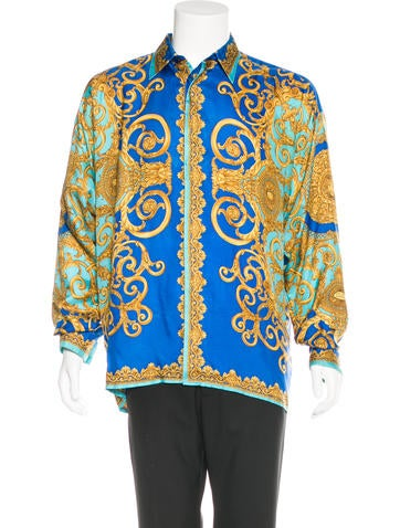 Baroque Silk Shirt