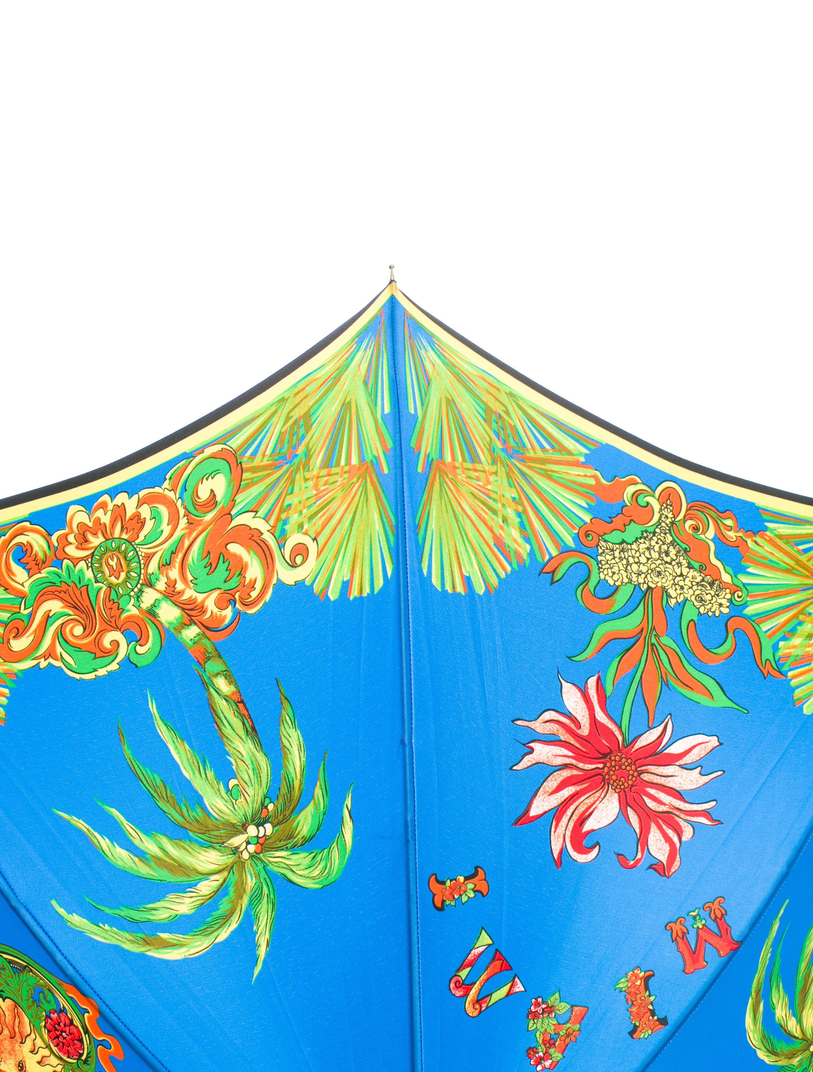 gianni versace miami print umbrella accessories gve20414 the