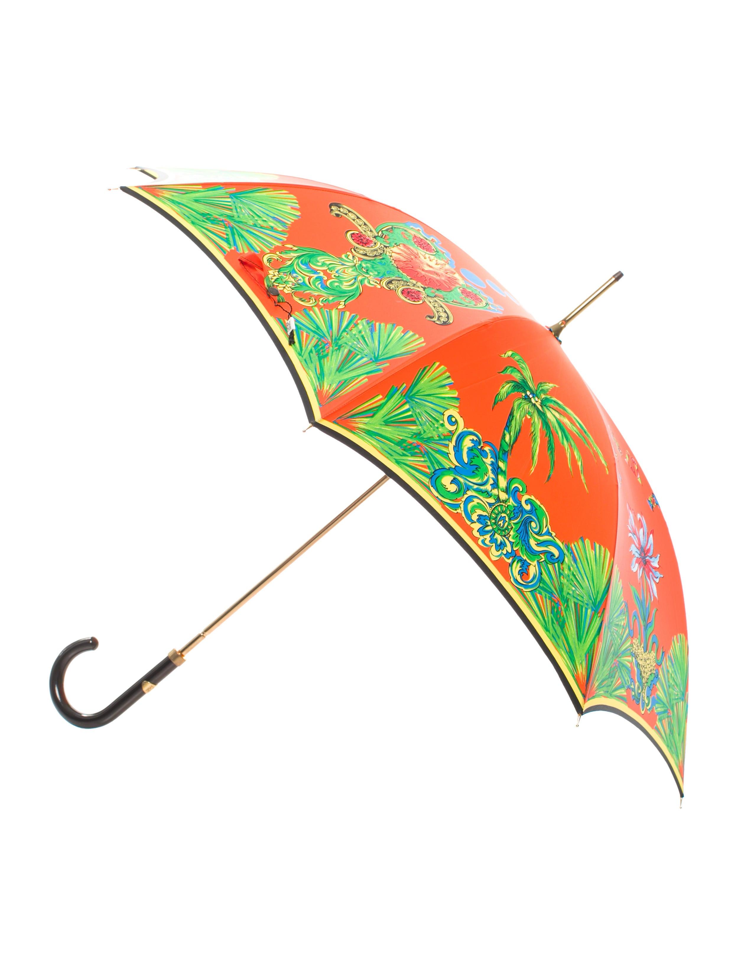 gianni versace miami print umbrella accessories gve20415 the