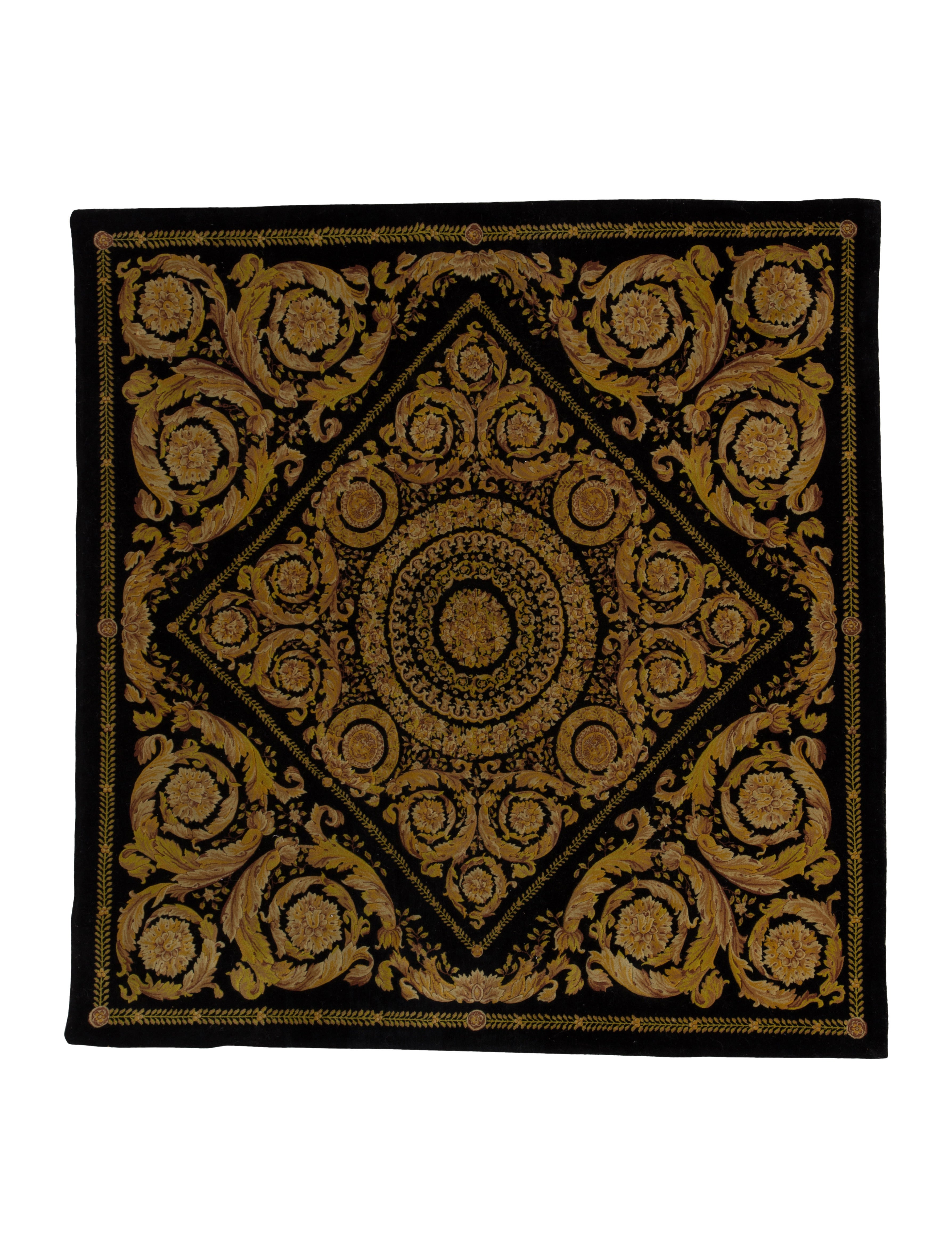 Square Foyer Rug : Gianni versace barocco entryway rug quot rugs