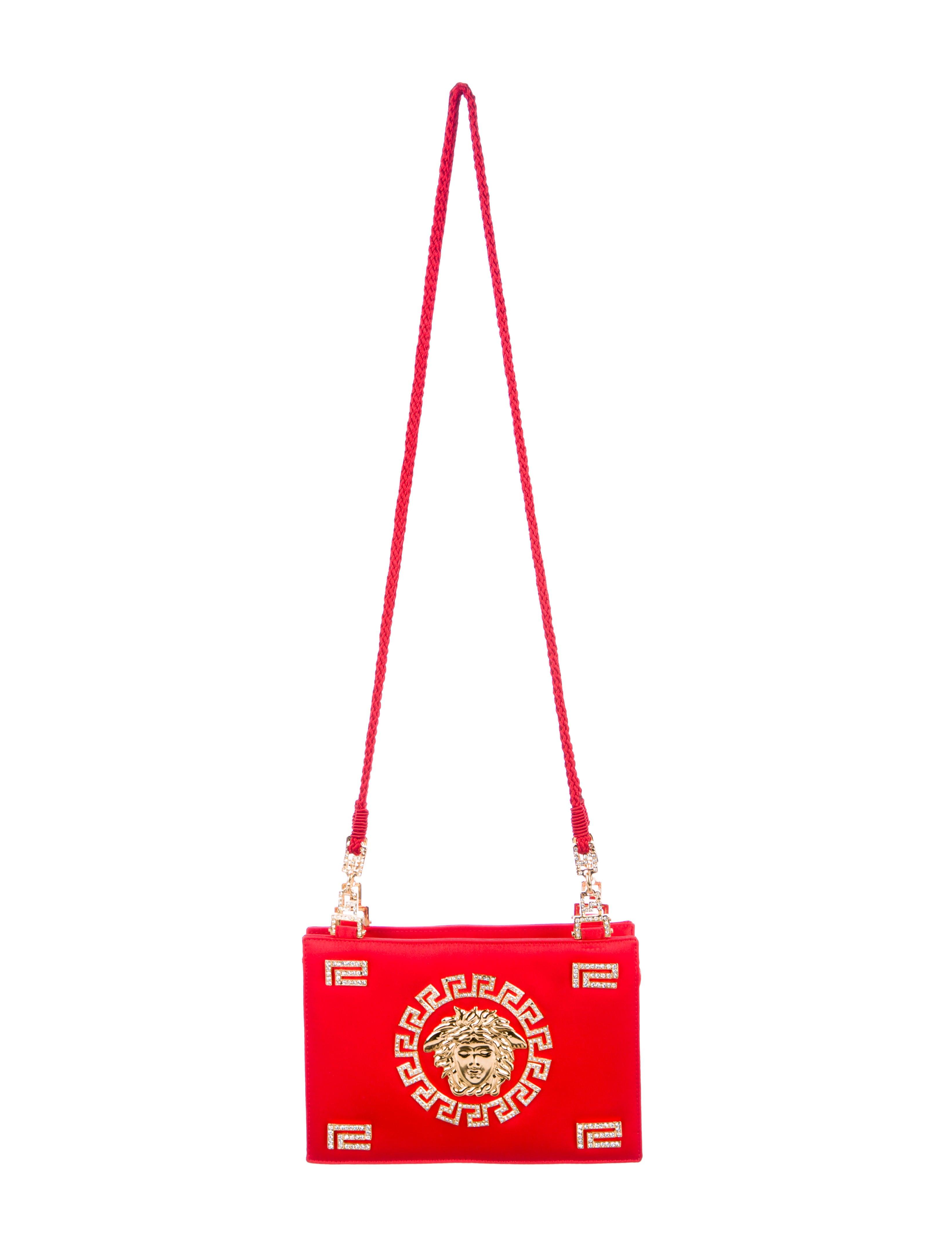 e210240a7afa Gianni Embellished Versace Crystal Bag Medusa Shoulder r6T6P7 ...