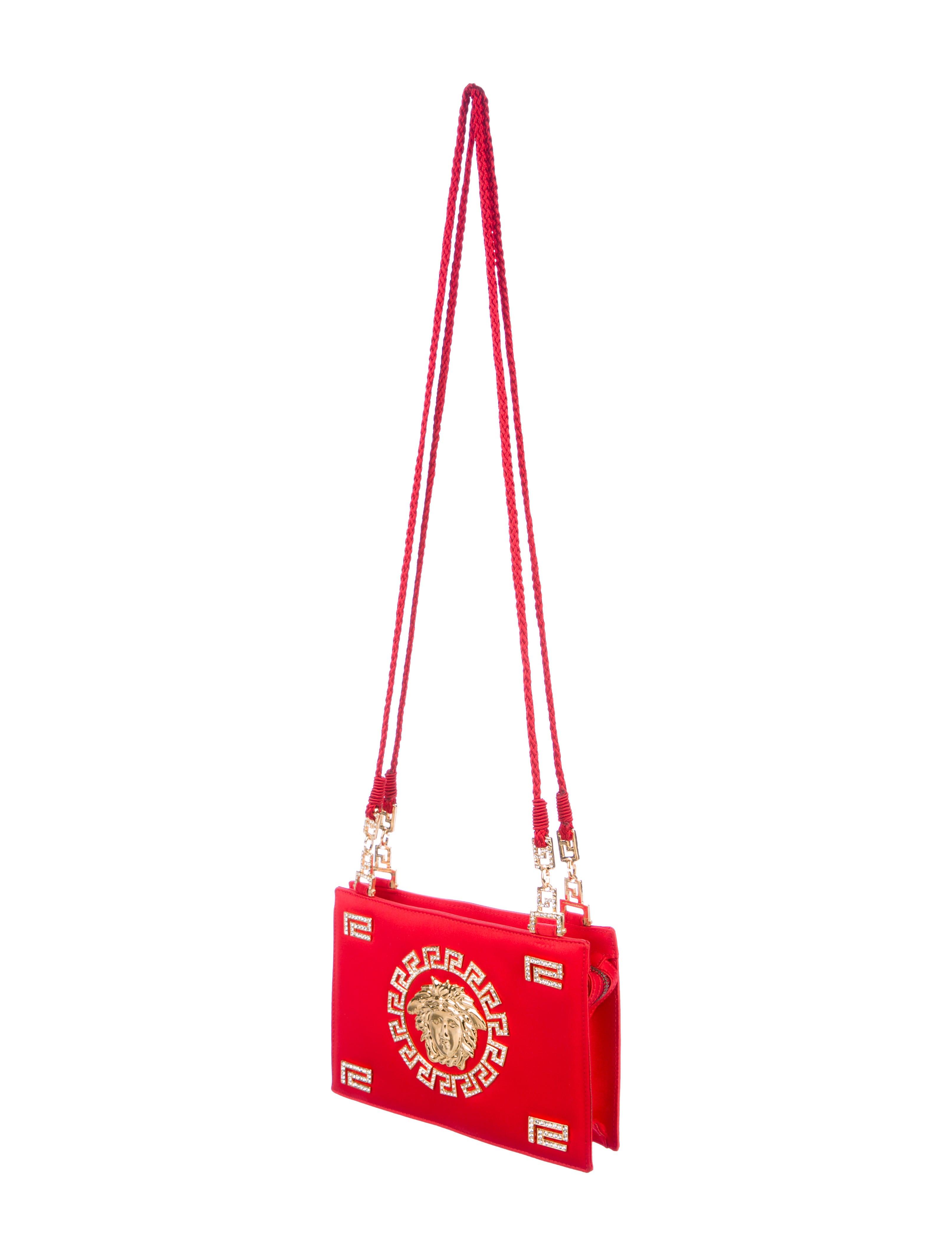 5f37bc8d4fd1 ... Gianni Embellished Versace Crystal Bag Medusa Shoulder r6T6P7 ...