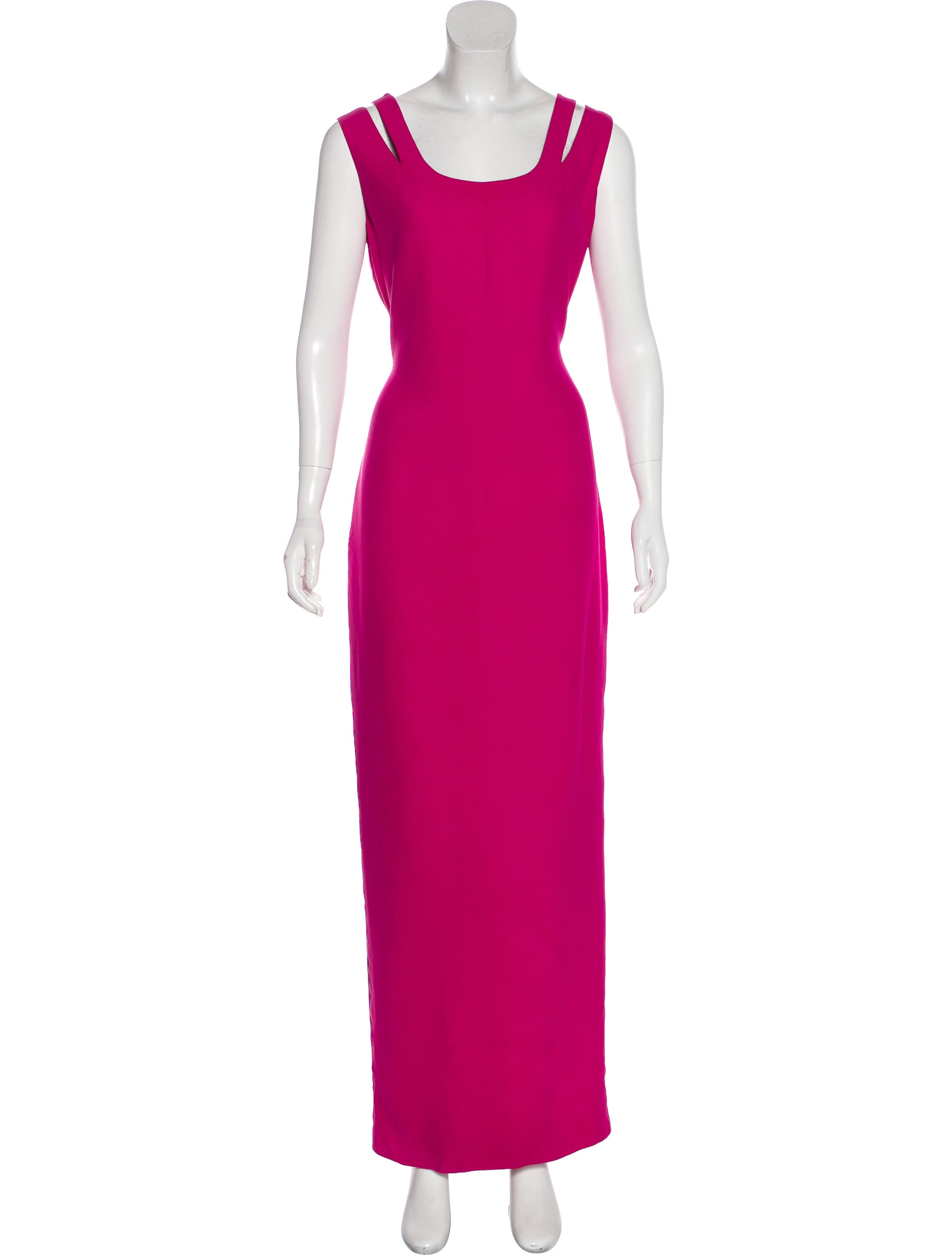 Gianni Versace Sleeveless Evening Dress - Clothing - GVE22396 | The ...