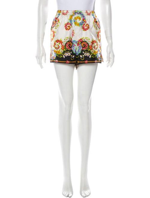 Gianni Versace Silk Mini Shorts