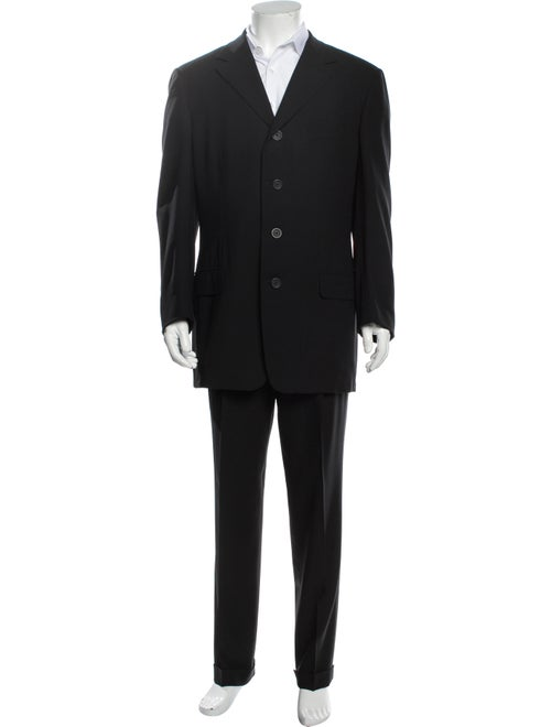 Gianni Versace Wool Two-Piece Suit Wool